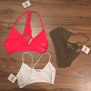 🆕 Free People  Strappy Side Bundle of 3 XS/S